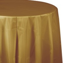 Round Table Cover Glittering Gold