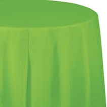 Round Table Cover Fresh Lime