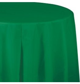 Round Table Cover Emerald Green
