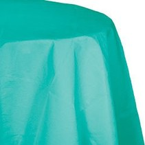 Round Table Cover Teal Lagoon