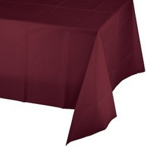 Table Cover Burgundy