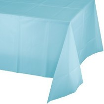 Table Cover Pastel Blue
