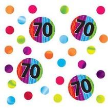 70 Milestone Confetti