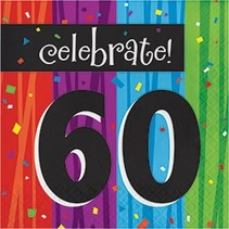 Milestone Celebrations Luncheon Napkins 60
