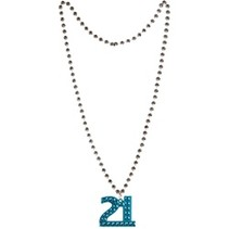 21 Beaded Necklace