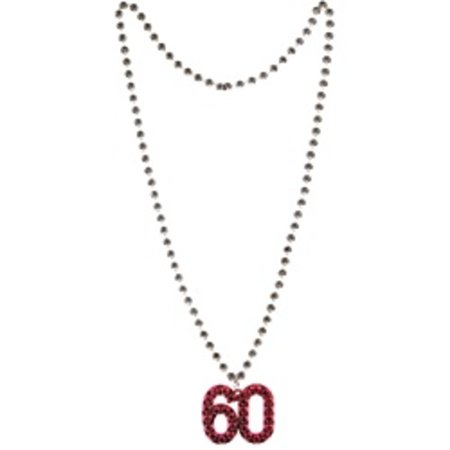 60 Beaded Necklace