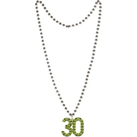 30 Beaded Necklace