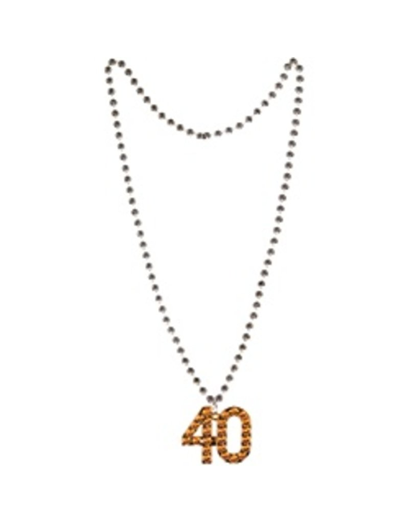 40 Beaded Necklace