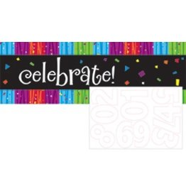 Giant Party Banner Celebrate