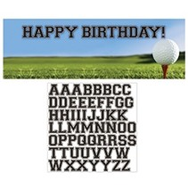 Giant Party Banner Birthday Golf
