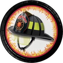 "7"" Plates Fire Watch"