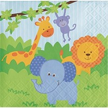Beverage Napkins Forest Friends