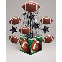 Mini Cascade Centerpiece Football