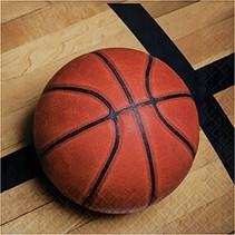 Luncheon Napkins Basketball