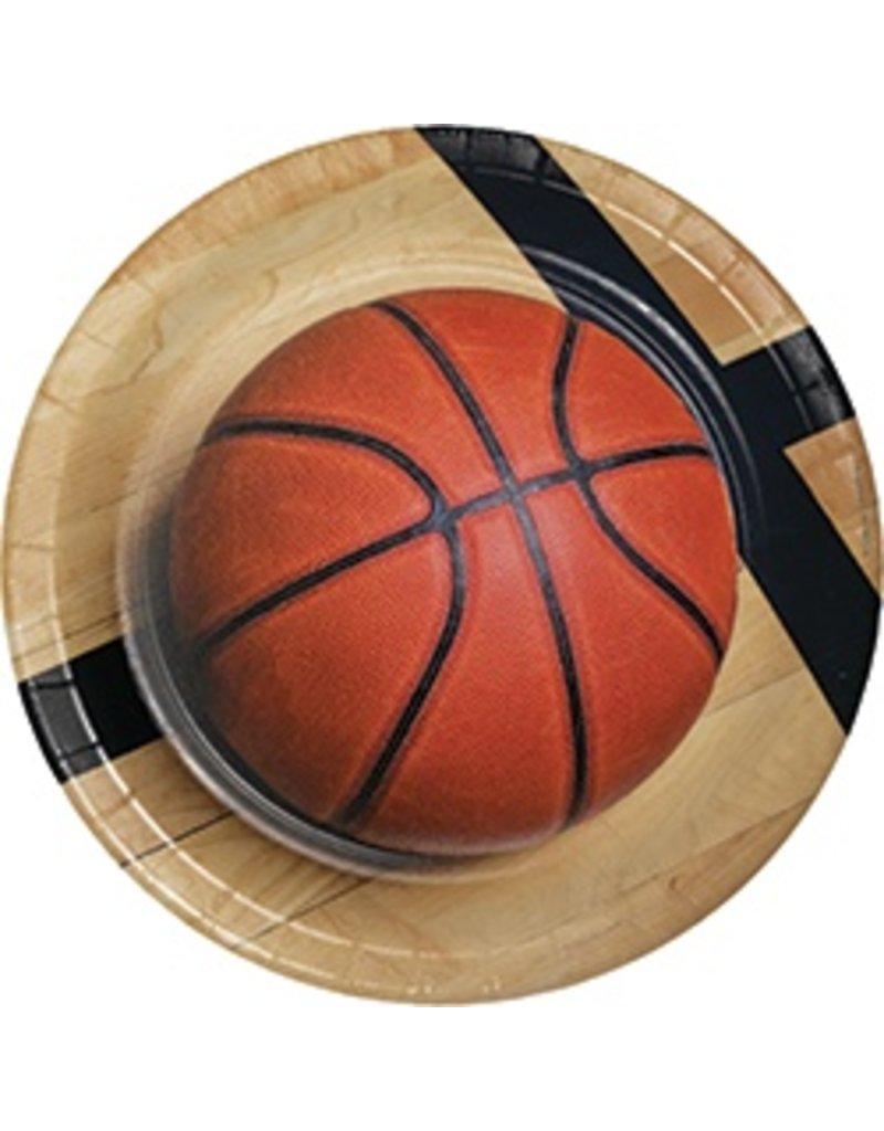 """9"""" Plates Basketball"""