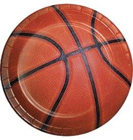 """7"""" Plates Basketball"""