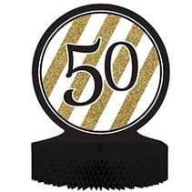 Centerpiece Black & Gold 50