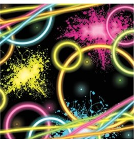 Beverage Napkins Glow Party