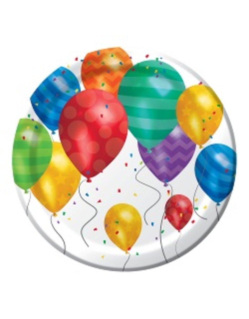 """7"""" Plates Balloon Blast"""