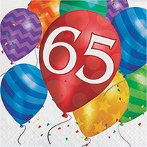Luncheon Napkins 65 Balloon Blast