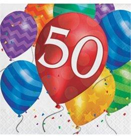 Luncheon Napkins 50 Balloon Blast
