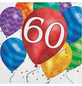 Luncheon Napkins 60 Balloon Blast