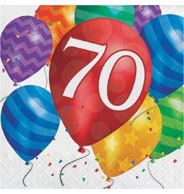 Luncheon Napkins 70 Balloon Blast