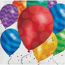 Beverage Napkins Balloon Blast