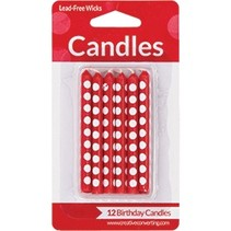 Candles Red Dot