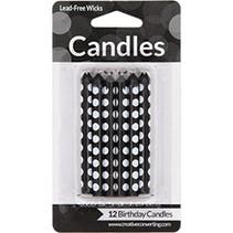Candles Black Dot