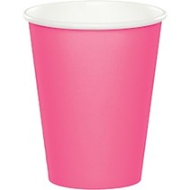 Paper Cups Candy Pink