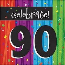 Luncheon Napkins Celebrate 90
