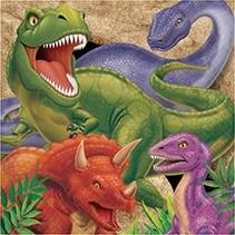 Luncheon Napkins Dino Blast