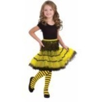 Child's Bumble Bee Tights Medium