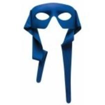 Blue Half Mask
