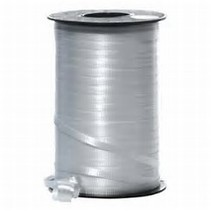 Curling Ribbon Silver 500 YD