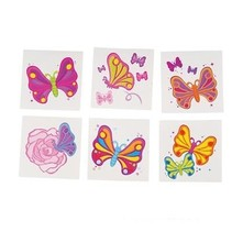 Tattoos Butterfly  72 Count
