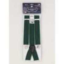 Suspenders Striped Blue & Green