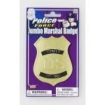 Jumbo Marshall Badge