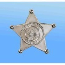Sheriff Badge Jumbo