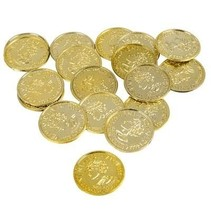 Gold Coins Plastic 144 count