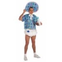 Baby Kit Diaper, Jumbo Pin & Pacifier Blue