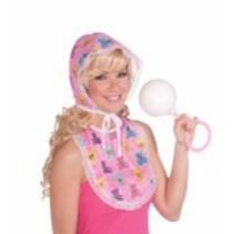 Baby Kit Bonnet & Bib Pink