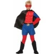 Super Hero Cape Child Size Black