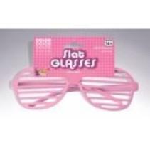 Slat Glasses Pink