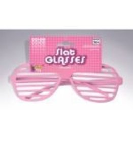 Slat Glasses Pink