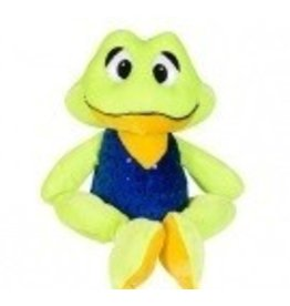 "Frog with Sparkle Vest 8"" tall"