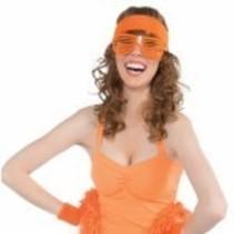 Wristbands & Headband Orange