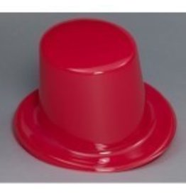 Top Hat Plastic Red