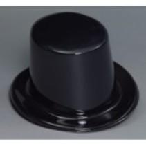 Top Hat Plastic Black